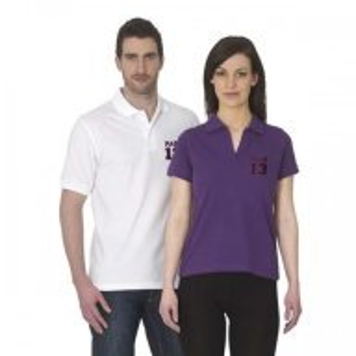 B&C Safran short sleeved 100% cotton polo shirt