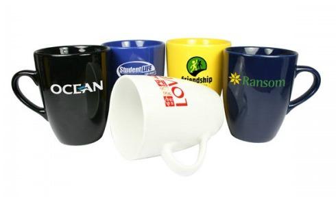 Marrow earthenware mug.