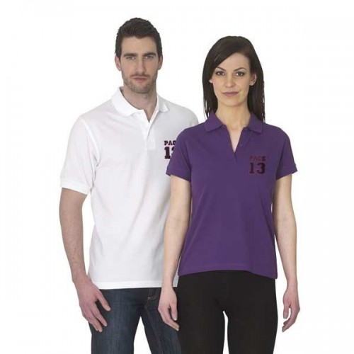 B&C Safran short sleeved 100% cotton polo shirt