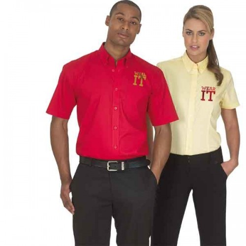 Kustom Kit Oxford Short Sleeved Corporate Shirt