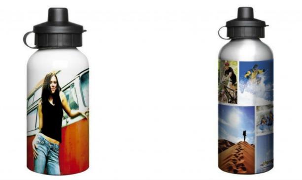 Aluminium sports bottles printed in full colour