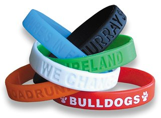trade show giveaways wristbands